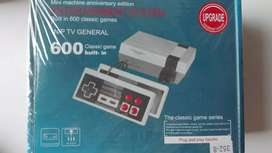 Nintendo mini clásico con 600 juegos clasicos