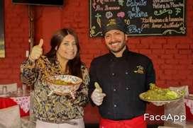 Buscó empleo como chef o cocinero