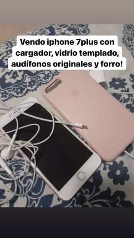 VENDO IPHONE 7PLUS EXCELENTE ESTADO