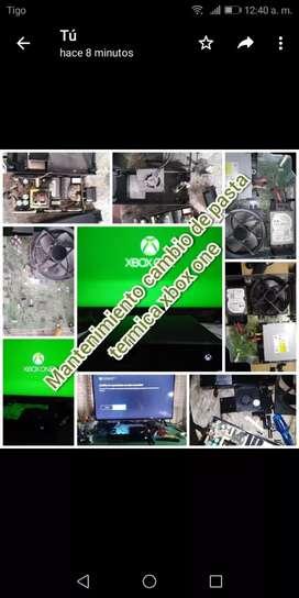 Reparación y Mantenimiento de consolas o computadores