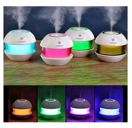 Humidificador Difusor Aromaterapia 8 Luces Ultrasonico 130ml
