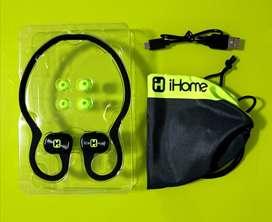 Audifonos deportivos iHome Fit ib80 (nuevos)