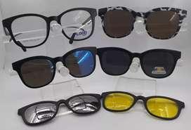 Gafas magnéticas 5 en 1