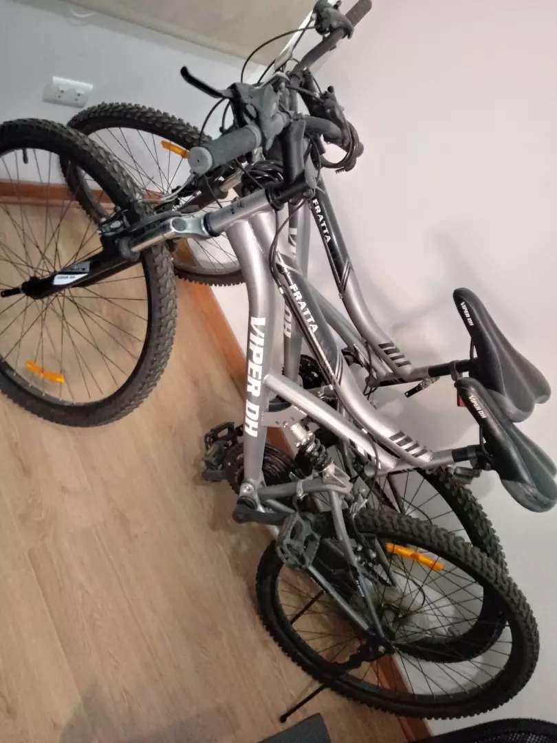 Dos Bicicletas Montañeras 7 velocidades 0