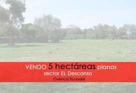 Vendo 5 hectareas en El Descaso Cuenca Ecuador