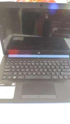 vendo una laptop hp