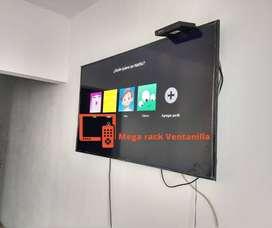 soporte para pared flotante de televisores