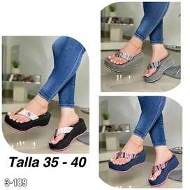 Zapato Sandalia Plataforma Para Dama