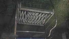 sofa cama de hierro antiguo