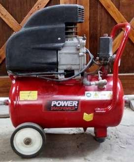 Compresora de aire 24 litros 2hp monofásica operativa electrica
