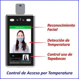 Cámaras de detección de temperatura + Control de Acceso