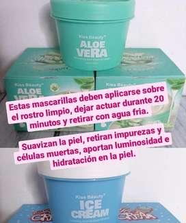 Crema de helado para cuidado de la piel