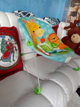 Silla vibradora mecedora para Bebés PERFECTO ESTADO