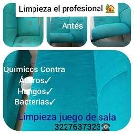 limpieza y desinfección de muebles