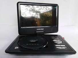 VENDO O CAMBIO POR TV LCD EXCELENTE DVD PORTATIL DE 9 PULGADAS