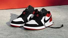 Zapatos Nike Jordan 1 Low Blanco/Negro/Rojo