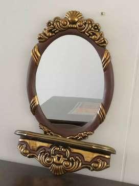Espejo y repisa