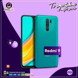 Redmi 9 4/64GB *nuevo con garantía*