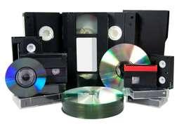 VHS, MINIDV, A DIGITAL O DVD