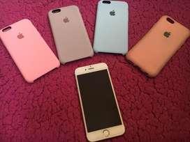 Vendo iPhone Rose gold 6s de 64 gb en perfectas condiciones mas 4 protectores y su cargador