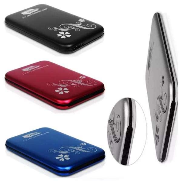 Case Externo Notebook 2.5 Usb 3.0 Disco Sata Aluminio Negro 0
