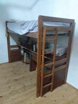 Liquido cama con mueble debajo, escucho ofertas