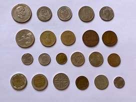 Colombia coleccion de monedas