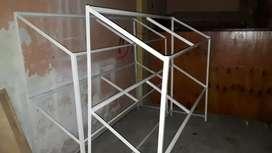 estantes metalicos verduderia