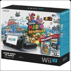Wii U 32 gb usado + Wii Controler