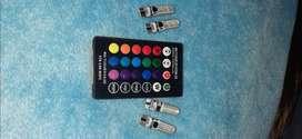 Luces LED de colores