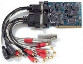PLACA DE SONIDO M-AUDIO DELTA 1010 LT PCI 8 ENTRADAS 8 SALIDAS