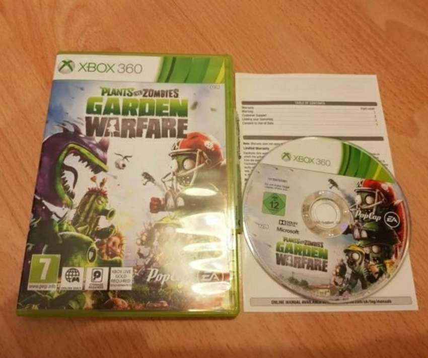 Plantas Vs Zombies Y Minecraft Xbox 360 0