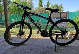 vendo bicicleta rodado 26, 21 velocidades