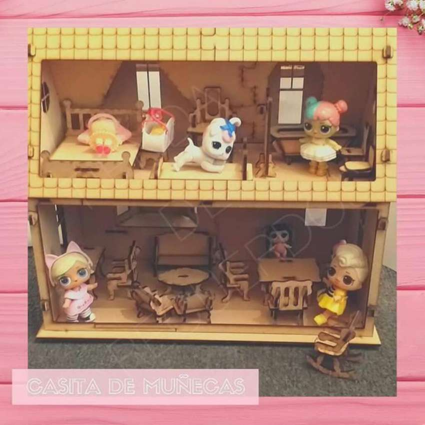 Casa Muebles Muñecas Lol Surprice Regalo 0