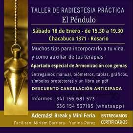 Taller de Radiestesia - El Péndulo