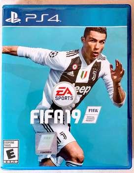 FIFA 19 físico en caja, impecable