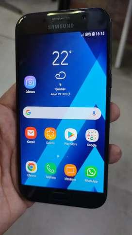 Samsung A5 2017, LIBRE 32Gb +3Gb huella filma 4k.