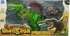Dinosaurio Spinosaurus Remoto + Obsequio