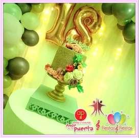 decoración en globos