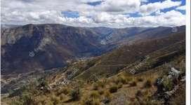 Venta de terreno en Huasahuasi de 13 ha