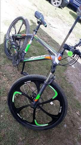 En venta bicicleta negociable