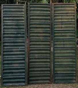 Hojas de puerta ventana