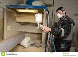 Se necesita ayudante de pintor