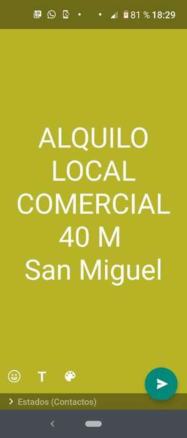 Alquiler Local Comercial
