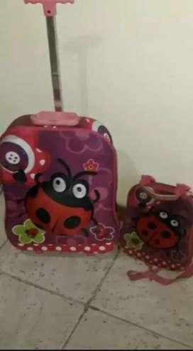 Vendoo valija con mochilita niña