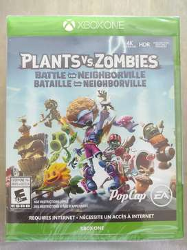 Videojuego Plants Vs Zombies Battle for Neighbirville Xbox One