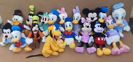 Lote de peluches Mickey y Minnie Mouse Variedad