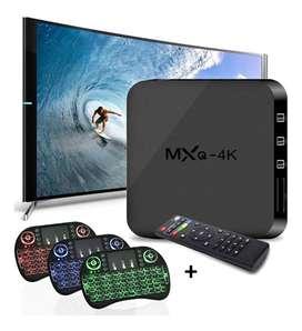 Combo Tv Box  Ram 2gb Rom 16gb + Teclado Tv Box