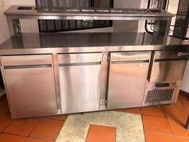 Rifrigerador con mesa de trabajo SUPERNORDICO