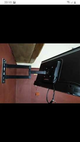 Soportes para Smart tv reforzados giratorios kit completo para istalar